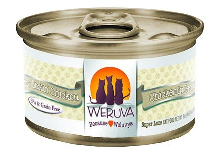 An image of Weruva's Paw Lickin' Chicken which is considered a best cat food