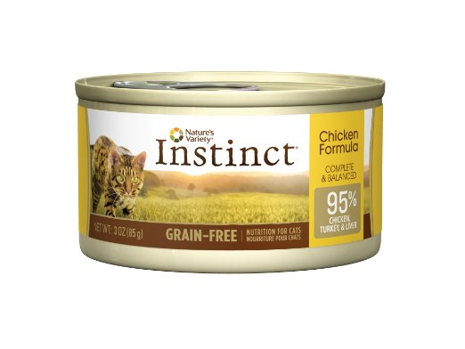 An image of Instinct Grain-Free Canned best cat food